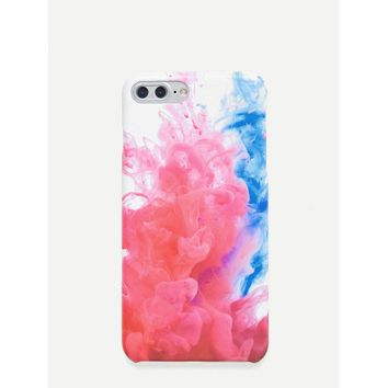 3D Smoke iPhone Case
