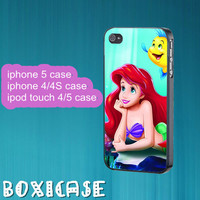 Ariel---iphone 4 case,iphone 5 case,ipod touch 4 case,ipod touch 5 case,in plastic,silicone and  black , white.