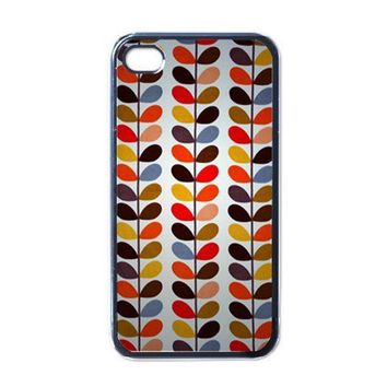 Apple iPhone Case - Orla Kiely Stem Print Wallet - iPhone 4 Case | Merchanstore - Accessories on ArtFire