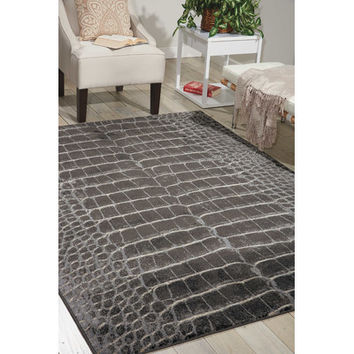 Mercer41 Bichir Charcoal Area Rug & Reviews | Wayfair