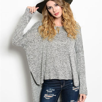 SASSY SLOUCHY TOP  - AVAILABLE IN 2 COLORS!