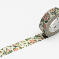 Masking Tape - mt ex, Mini Flower Botanical Art, 15mm x 10m