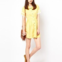 Goldie Shirt Dress at asos.com