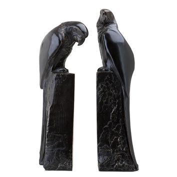Bronze Bookend Set of 2 | Eichholtz Perroquet