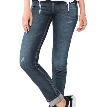 Silver Jeans Suki Perfectly Curvy Ankle Slim Jeans
