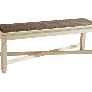 Bolanburg Dining Room - Upholstered Bench, Upholstered Side Chair or Display Cabinet