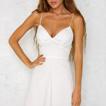 Virgo Dress White