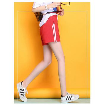 Leisure sports Shorts In summer loose looks slimmer Bright breeches comfortable soft cool three colors Beach Yoga shorts