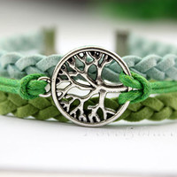 A tree of the tree of life - hope bracelets, personalized bracelets, friendship gift