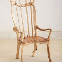 Richard Keal Yew Chair in Assorted Size: One Size Decor