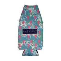 Simply Southern Seahorse Bottle Koozie | Palmetto Moon