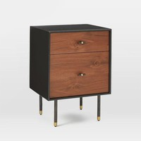 Classical 20.8'' Storage Bedside Table