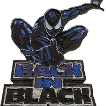 Application Spiderman Back In Black Patch