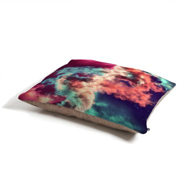 Caleb Troy Yin Yang Painted Clouds Pet Bed