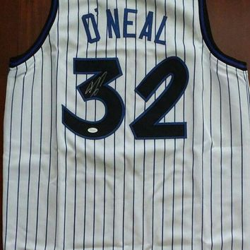 MDIGON Shaquille O'Neal Signed Autographed Orlando Magic Basketball Jersey (JSA COA)