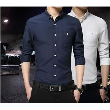 Mens Classic Button Down Shirt