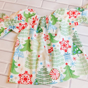 Christmas dress 18 Months Ready To Ship Boutique Clothing By Lucky Lizzy's