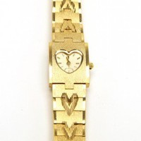 Heart Of Gold Watch | NASTY GAL | Jeffrey Campbell shoes, Evil Twin, MinkPink, BB Dakota, vintage dresses + more!