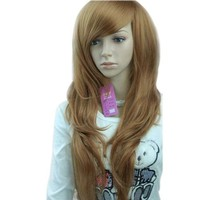 MelodySusie Fashion Women's Long Wavy Curled Hair Wig
