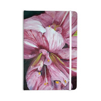 "Cathy Rodgers ""Pink Day Lily Blooms"" Pink Flower Everything Notebook"
