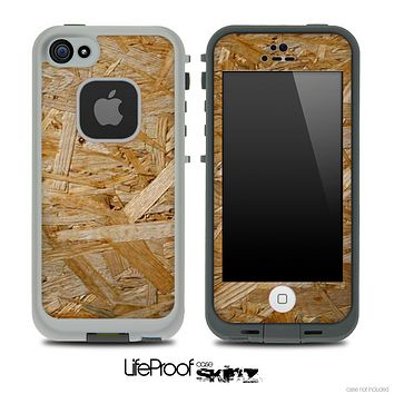 Light Plywood Skin for the iPhone 5 or 4/4s LifeProof Case