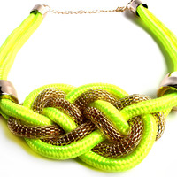 """Neon Lights"" Statement Necklace"