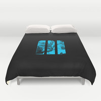 M Ink Duvet Cover by Matt Irving