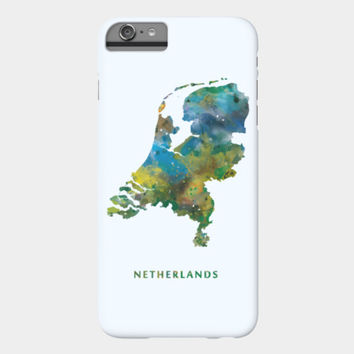 Netherlands Phone Case By Monn Design By Humans