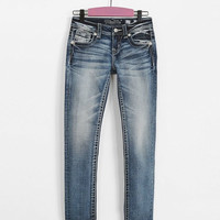 Girls - Miss Me Skinny Stretch Jean - Girl's Jeans in MK 658 | Buckle