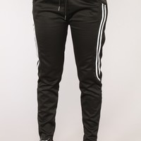 Run The Field Joggers - Black