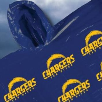 San Diego Chargers Hooded Poncho
