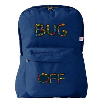 BUG OFF AMERICAN APPAREL™ BACKPACK