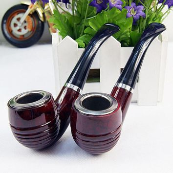 Multifunction Pipes Durable Smooth Chimney Smoking Pipe Herb Tobacco Pipes Gifts Narguile Weed Grinder Smoke Cigarette Holder