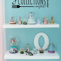 Inspired by The Little Mermaid Wall Decal Sticker My Collections Complete