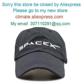 Trendy Winter Jacket CLIMATE Men Women Cool Black Spacex UFO Baseball Hat Caps Cotton Adult Outer Space Rocket Musk Fans Sport Active Cool Caps Hat AT_92_12