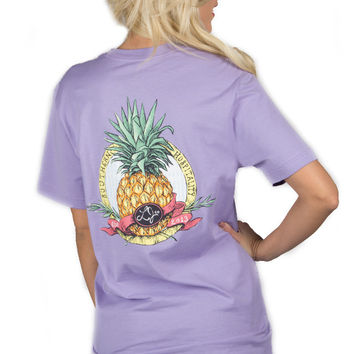 Lauren James Southern Hospitality Tee- Lavender