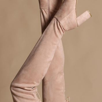 Chinese Laundry Krush Over The Knee Boot - Blush