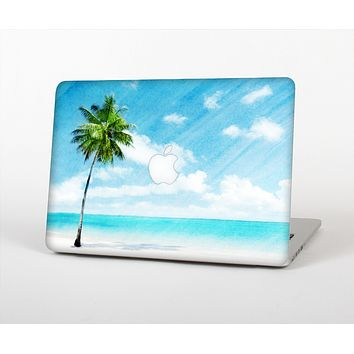 The Paradise Beach Palm Tree Skin for the Apple MacBook Pro 13""