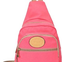 jeansian Women's Fashion Chest Pack Backpack Shoulder Bag BGA009