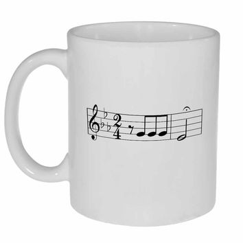 Beethoven Music Coffee or Tea Mug