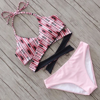 Summer Hot New Arrival Swimsuit Beach Swimwear Print Sexy Bikini [10679912143]