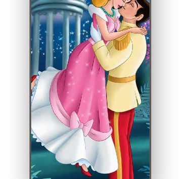 CINDERELLA AND PRINCE KISS for iPhone 4/4S Case **