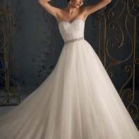 Blu by Mori Lee 5162 Ball Gown Wedding Dress