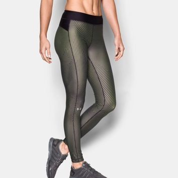 Women's UA HeatGear® Armour Printed Legging | Under Armour US