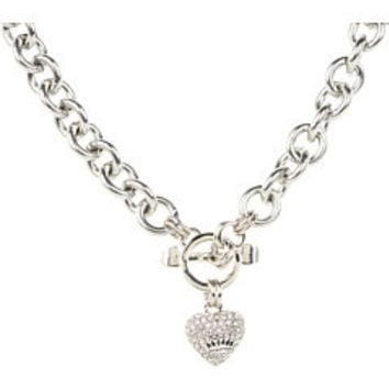 Juicy Couture Juicy Pave Icon Necklace