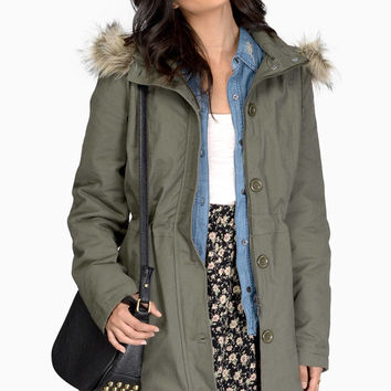 Chasing Rumors Coat