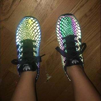 Fashion Adidas Chameleon Reflective Sneakers Sport Shoes-2