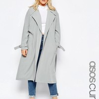 ASOS Curve | ASOS CURVE Duster Coat at ASOS