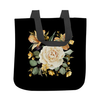 Evening Rose Tote Bag