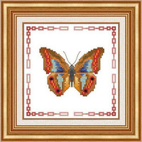 Butterfly - PDF Cross Stitch Pattern - INSTANT DOWNLOAD
